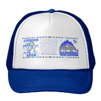 ValxArt zodiac water monkey Capricorn born 1992 Trucker Hat