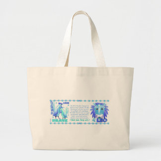 ValxArt Zodiac water rooster born 1933 1993 Large Tote Bag