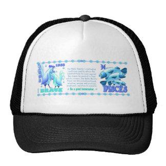 ValxArt Zodiac water rooster Pisces 1933 1993 Trucker Hat
