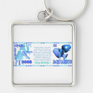 ValxArt Zodiac water sheep born Aquarius 1943 2003 Key Chain