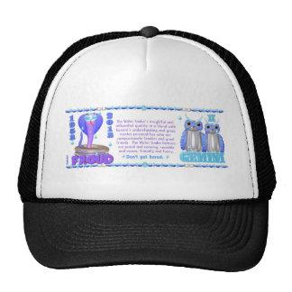 ValxArt Zodiac water snake born Gemini 1953 2013 Trucker Hat