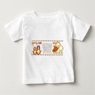 ValxArt Zodiac wood rabbit born Aries 1975 2035 Baby T-Shirt