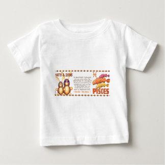ValxArt Zodiac wood rabbit born Pisces 1975 2035 Baby T-Shirt