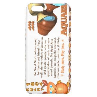 ValxArt Zodiac wood rat born Aquarius 1984 1924 iPhone 5C Covers