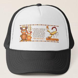 ValxArt Zodiac wood rat born Scorpio 1984 1924 Trucker Hat