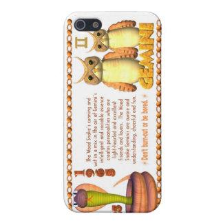 ValxArt Zodiac wood snake born Gemini 1965 2025 iPhone SE/5/5s Case