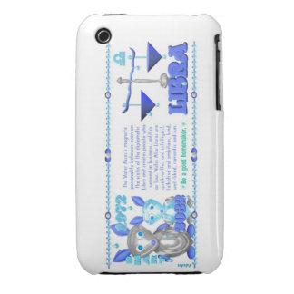 Valxart's 1972 2032 WaterRat zodiac born Libra iPhone 3 Case-Mate Case