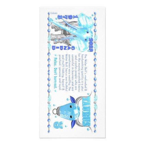 Valxart's 1973 2033 Zodiac WaterBull born Taurus Picture Card