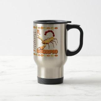 Valxart's 1974 Wood Tiger  zodiac born Scorpio Travel Mug