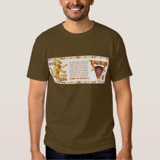 Valxart's 1974 WoodTiger  zodiac born Capricorn Tee Shirt