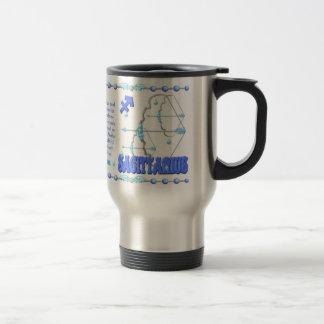 Valxart's 1974 WoodTiger  zodiac born Sagittarius Travel Mug