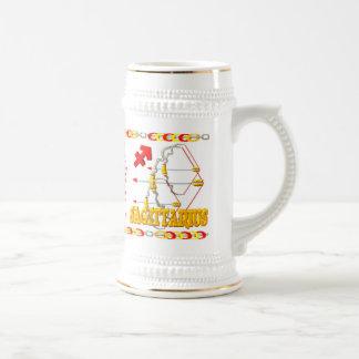 Valxart's 1977 Fire Snake  zodiac born Sagittarius Beer Stein