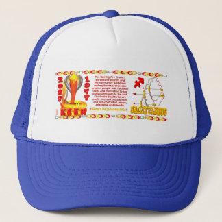 Valxart's 1977 Fire Snake  zodiac born Sagittarius Trucker Hat