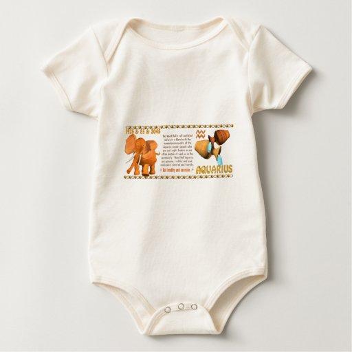 Valxart's 1985 zodiac wood bull born Aquarius Bodysuit
