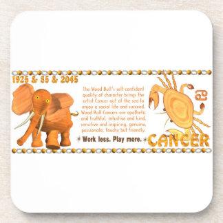 Valxart's 1985 zodiac wood bull born Cancer Coaster
