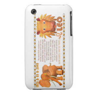 Valxart's 1985 zodiac wood bull born Leo iPhone 3 Case-Mate Case