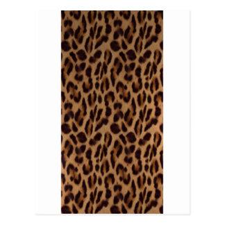 Valxart's Leopard skin illusion Postcard
