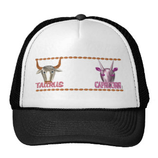 ValxArt's  Taurus Capricorn friendship design Trucker Hat