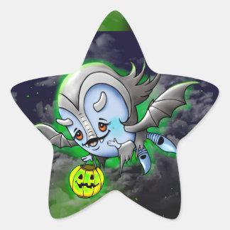 VAM BARAKA ROUND STICKER Monster STAR Small, 1½ in