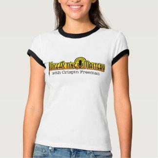 VAM Logo Two-Tone Ringer T-Shirt - Women's Tee