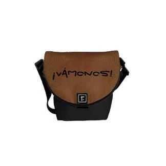 Vamonos (b)- Crossbody Messenger Bag