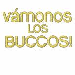 vámonos Los BUCCOS embroidered Sherpa Hoody
