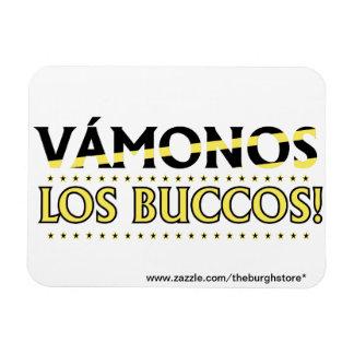 VAMONOS Los Buccos! Magnet! with store address Magnet