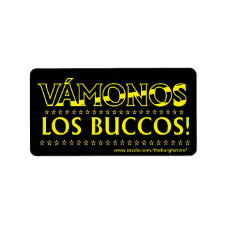 Vamonos Los Buccos Stickers