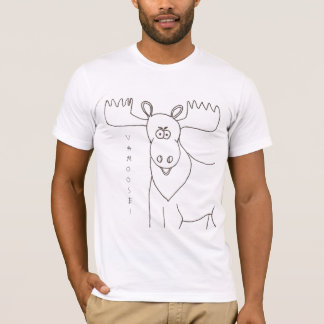 Vamoose Says the Moose T-Shirt