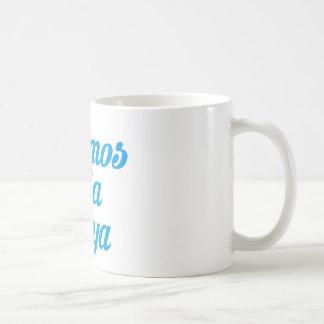 VAMOS A LA PLAYA COFFEE MUG
