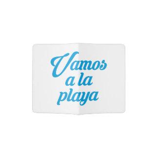 VAMOS A LA PLAYA PASSPORT HOLDER