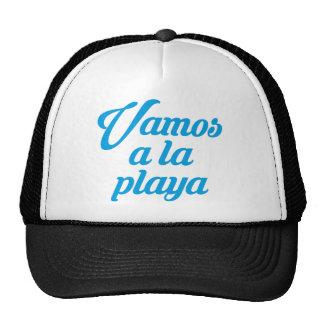 VAMOS A LA PLAYA TRUCKER HAT