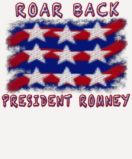 """""""Vamos a retirar el camisetas de América"""" Romney Playera"""