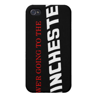 vamos al Winchester iPhone 4 Funda