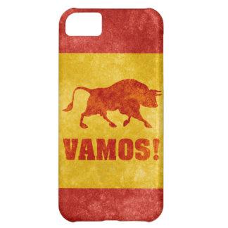 ¡VAMOS! Bull y caso español del iPhone 5 de la ban Funda Para iPhone 5C