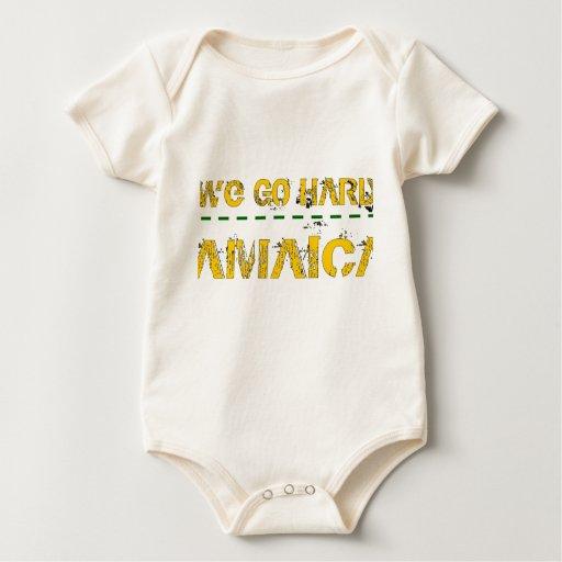 Vamos difícilmente traje de bebé