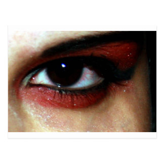 vamp eye postcard