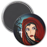 Vamp Fridge Magnet