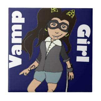 Vamp Girl.jpg Ceramic Tile