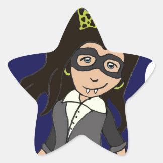 Vamp Girl.jpg Star Sticker