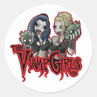 Vamp Girls Apparel Logo Sticker