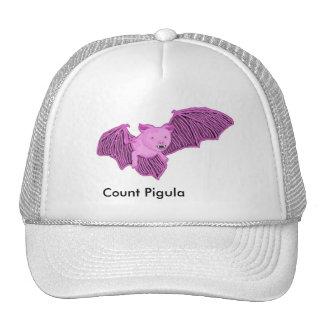 Vampimal Count Pigula Bat Form Trucker Hat