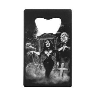 Vampira Plan 9 zombies Credit Card Bottle Opener