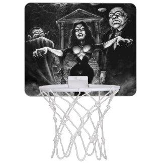 Vampira Plan 9 zombies Mini Basketball Backboard