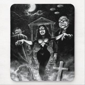 Vampira Plan 9 zombies Mouse Pad