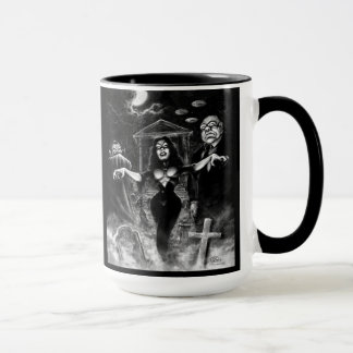 Vampira Plan 9 zombies Mug