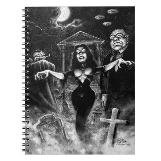 Vampira Plan 9 zombies Notebook