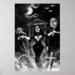 Vampira Plan 9 zombies Poster
