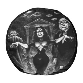 Vampira Plan 9 zombies Pouf