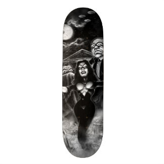 Vampira Plan 9 zombies Skateboard